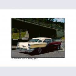 Oldsmobile super 88 Holiday 1957