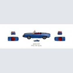 Mercury FIAT 850 Spyder