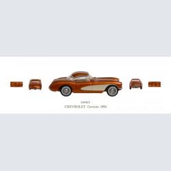 Dinky CHEVROLET Corvette 1956