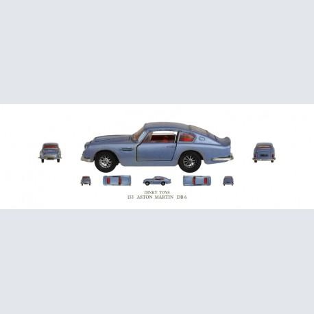 Dinky Toys ASTON MARTIN DB 6