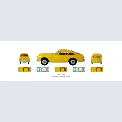 Corgi Toys ASTON MARTIN DB 4