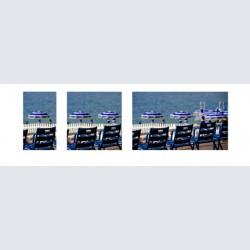 Chaise Bleue tri 002 H