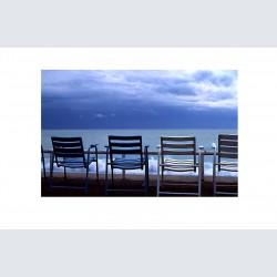 Chaise Bleue H 01