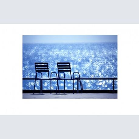 Chaise Bleue H 02