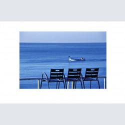 Chaise Bleue H 03