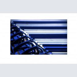Chaise Bleue H 04