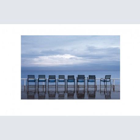Chaise Bleue H 05