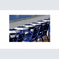 Chaise Bleue H 06