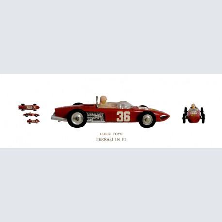 Corgi Toys FERRARI 156 F1