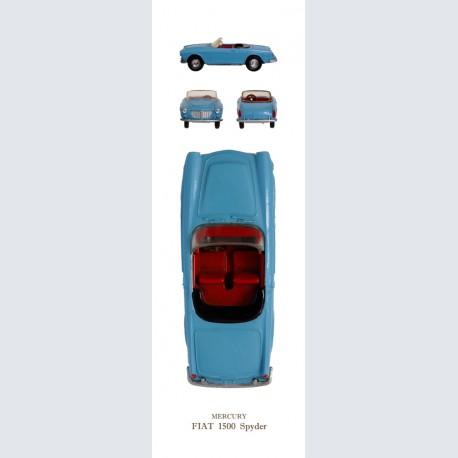 Mercury FIAT 1500 Spyder