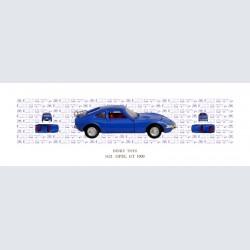Dinky Toys OPEL GT 1900