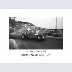 Nice Gd Prix 1946 Villoresi / Maserati