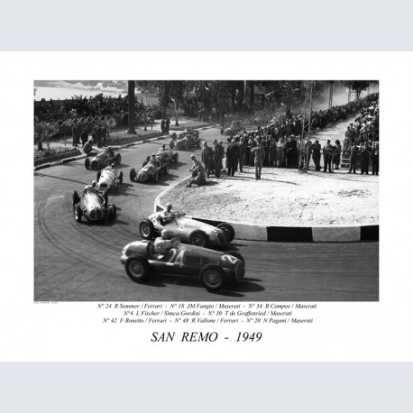 San Remo Gd Prix 1949 H