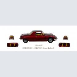 Corgi Toys CITROEN DS Chapron coupé Le Dandy