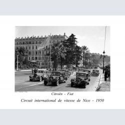 nice 1950 circuit vitesse Citroen