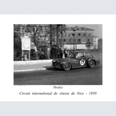 nice 1950 circuit vitesse Healey