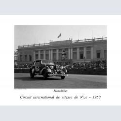 Nice 1950 circuit vitesse Hotchkiss