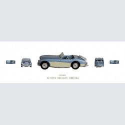 Corgi Austin Healey 3000 Mk 1