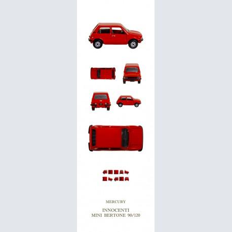 Mercury INNOCENTI Mini Bertone 90/120