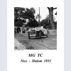 MG TC Nice Slalom 1951